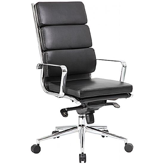 Tanya High Back Leather Manager Chair