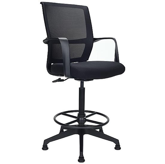 Office 24 Hr Mesh Back Draughtsman's Chair