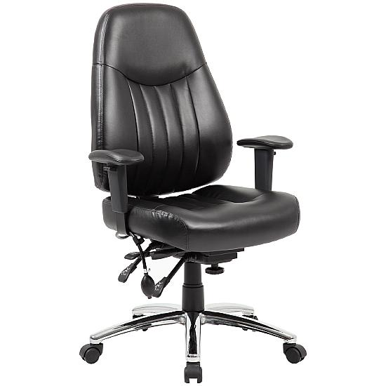 Stapleton 24 Hour Leather Task Chair - Office Chairs