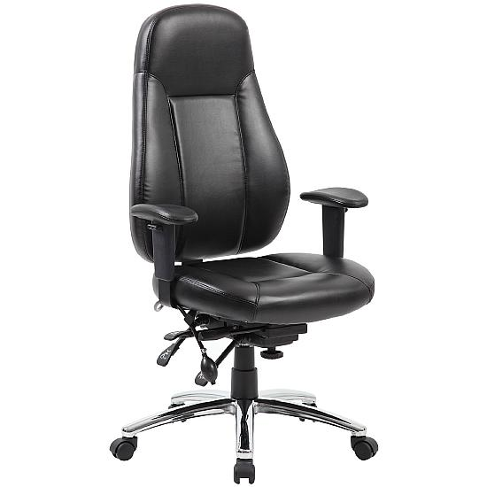 Yate 24 Hour Leather Task Chair