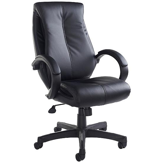 Adapt Leather Managers Chair - Office Chairs