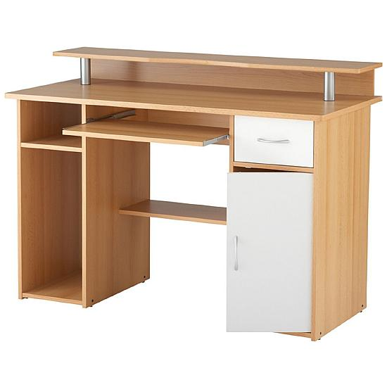 Albany Beech Computer Desk - Office Furniture