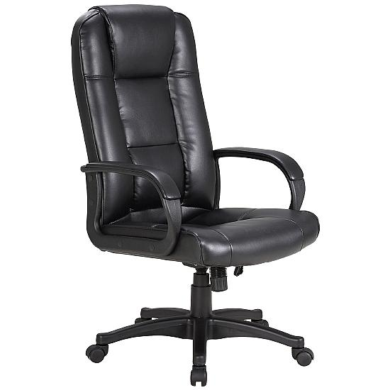 Kendo Leather Managers Chair - Office Chairs