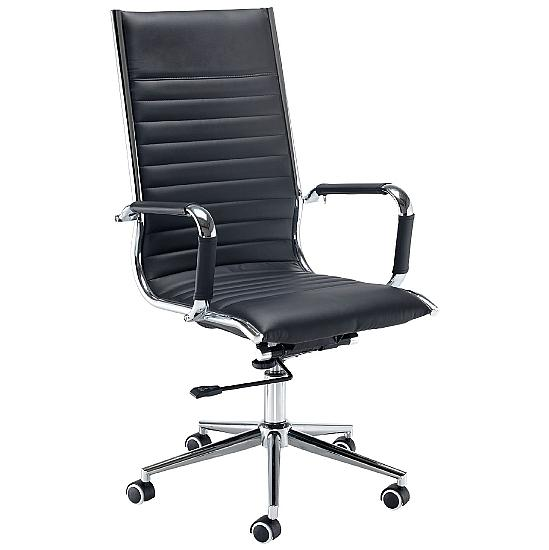 Bari Leather Manager Chair