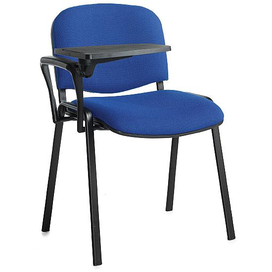 Fleet Black Frame Conference Chair With Writing Ta