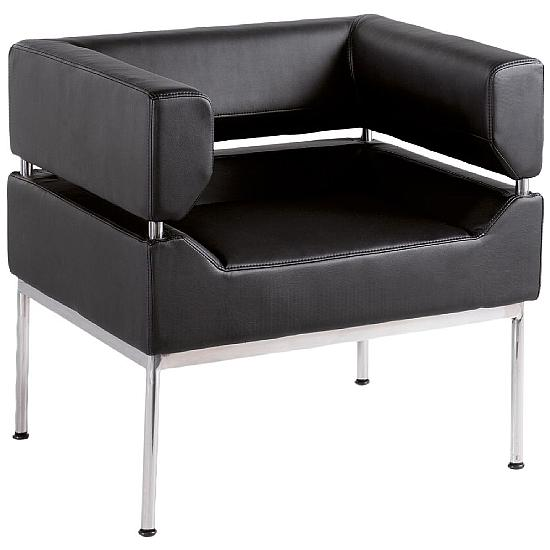 Casa Leather Faced Chair - Office Chairs