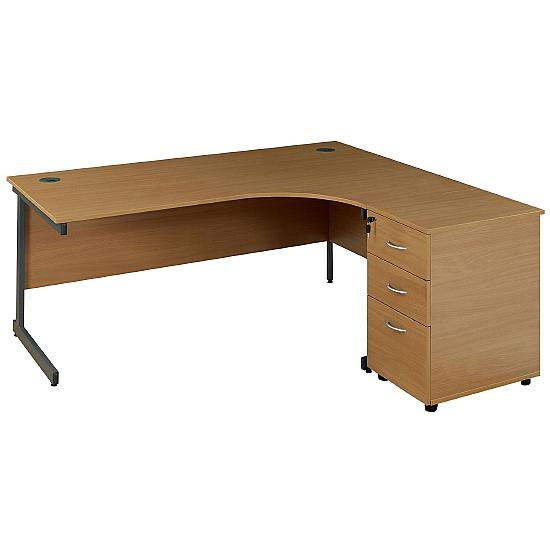 Eco Combi Cantilever Desk - Office Desks