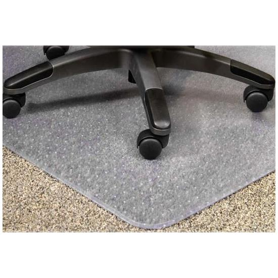 Lipped Studded Carpet Chair Mat - Office Chairs