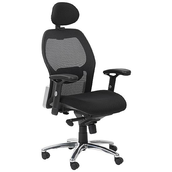 Sanderson II Mesh Manager Chair - Office Chairs
