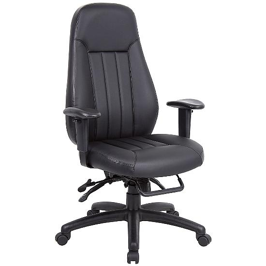 Inspire 24hr Leather Task Chair - Office Chairs