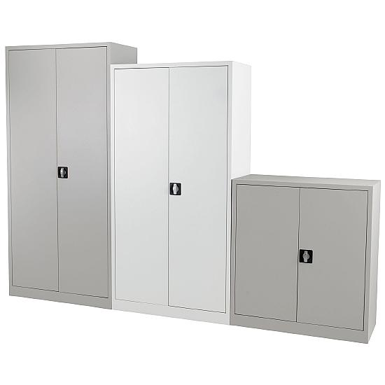 Next Day Talos Steel Office Cupboards - Office Furniture