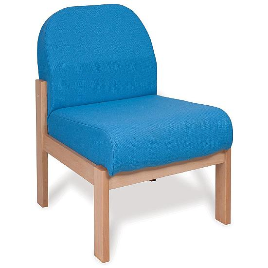 Deluxe Solid Beech Wooden Reception Chair - Office Chairs