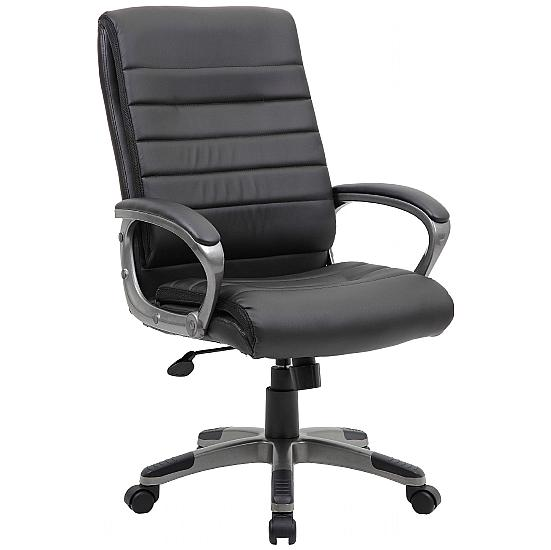 Paris Leather Managers Chair - Office Chairs