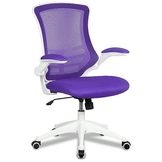 Airflow Mesh White Frame Manager Chair