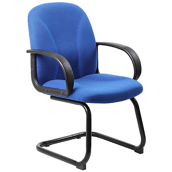 Perth Fabric Visitor Chairs - Meeting Room Chairs