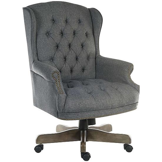 Chairman Traditional Fabric Manager Chair - Office Chairs