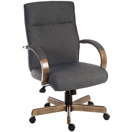 Grayson Executive Fabric Managers Chair - Office Chairs