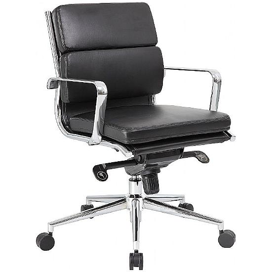 Palma Executive Medium Back Managers Chair - Office Chairs