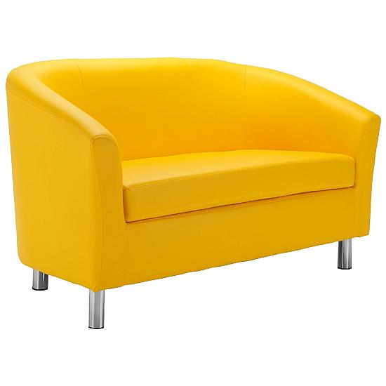 Devon Vinyl 2 Seater Tub Chairs