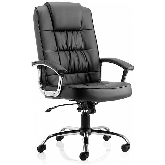 Lexie Chrome Deluxe Chair - Office Chairs