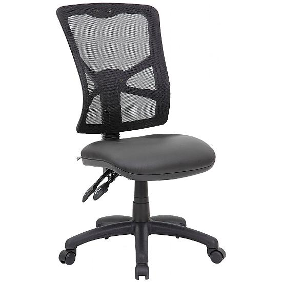 Comfort Ergo 2-Lever Mesh Leather Operator Chairs