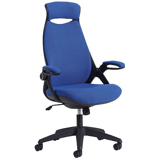 Tuscan High Back Fabric Managers chair