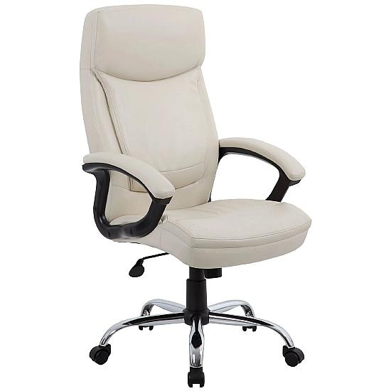 Findsbury High Back Leather Manager Chair