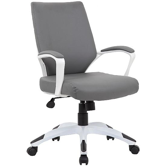 Aintree Medium Back Bonded Leather Office Chairs