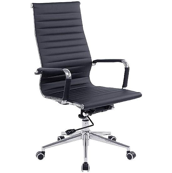 Aura Bonded Leather High Back Managers Chair