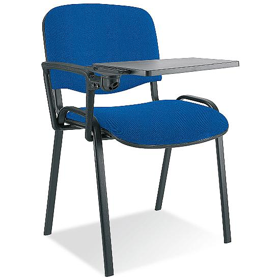 ISO Black Frame Conference Chair With Writing Tabl