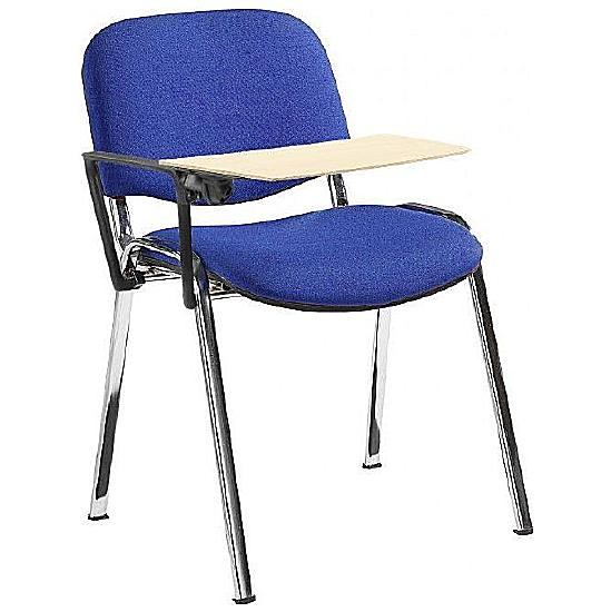Fleet Chrome Frame Conference Chair With Wooden
