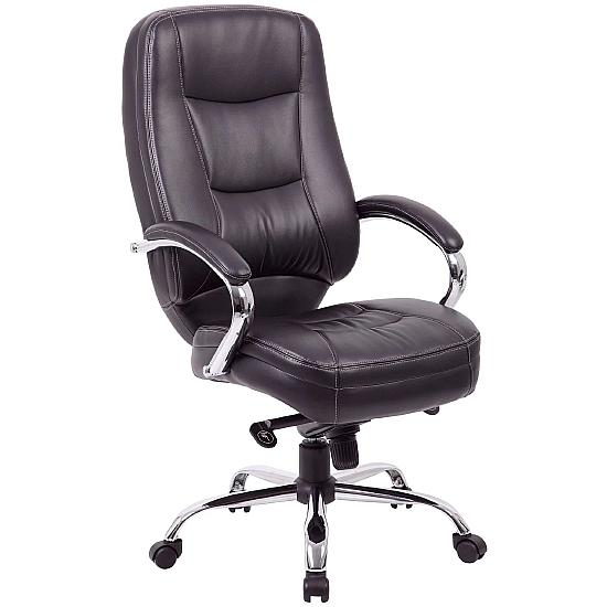 Rimini Leather Manager Chairs
