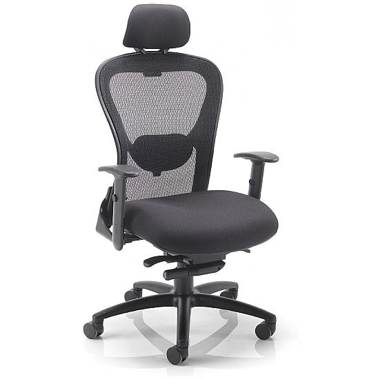 Strata 24hr Mesh Chair With Headrest
