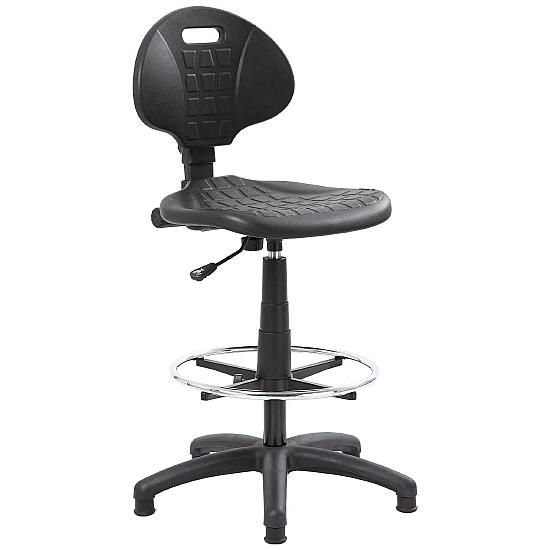 Poly Draughtsman Chair - Office Chairs