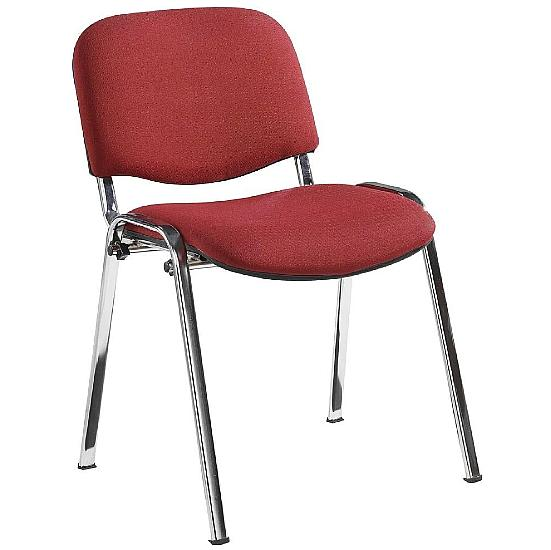 ISO Chrome Frame Conference Chair (Pack of 4) - Office Chairs