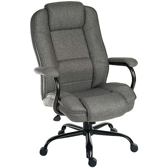 Goliath 24 Hour 27 Grey Fabric Manager Chair