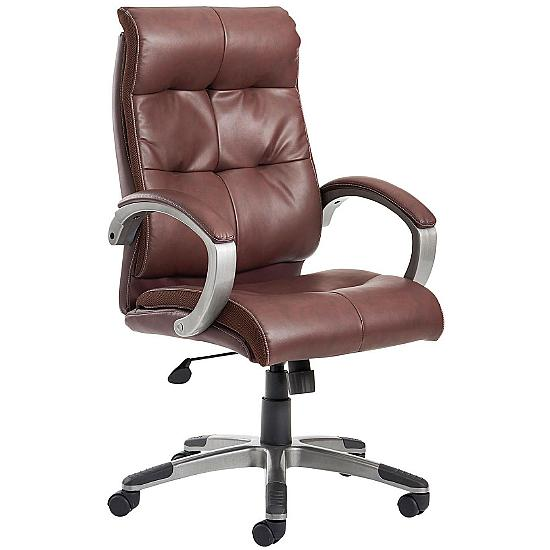 Astro Brown Leather Executive Chair