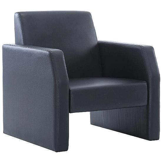 Brooks Leather Reception Chair