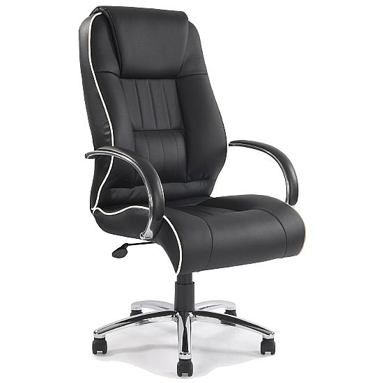 Plymouth Leather Manager Chair