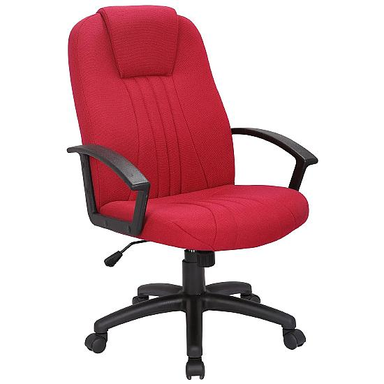 Pacific Wine Fabric Manager Chair