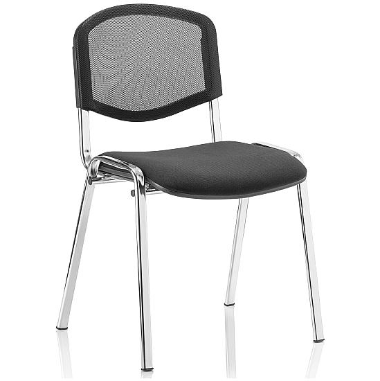 Mac Mesh Chrome Frame Conference Chair (Pack of 4)