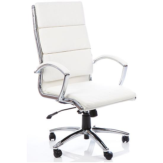 Ritz Executive White Managers Chair