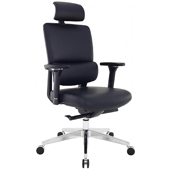 Parity Executive 24 Hour Leather Office Chair