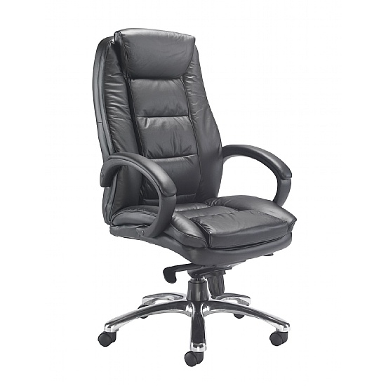Montana Leather Manager Chair