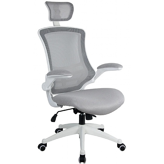 Orb Mesh High Back Office Chair With Headrest