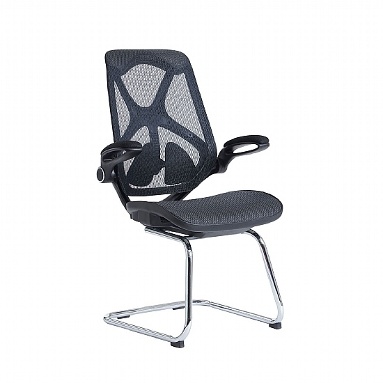 Solus High Back Mesh Task Visitor Chair