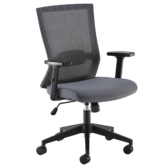 Travis Grey Mesh Manager Chair