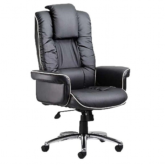 Chelsea Leather Manager Chair