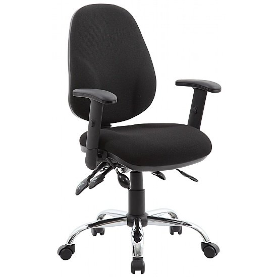 Fully Loaded 4-Lever Operator Chair
