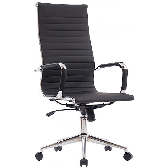 Beat High Back Leather Office Chair